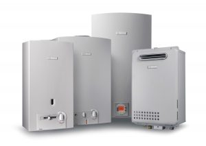 Various size gas water heaters